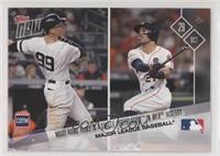 Aaron Judge, Jose Altuve, George Springer, Justin Turner #/398