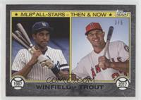 Dave Winfield, Mike Trout /5