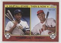 Dave Winfield, Mike Trout /10