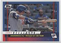 Cody Bellinger (Unanimous NL Rookie Of The Year) /49