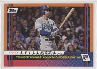 Cody Bellinger (Youngest Dodgers Player with Postseason HR)