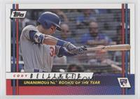 Cody Bellinger (Unanimous NL Rookie of The Year)