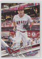 Mike Trout (Running with Glove)