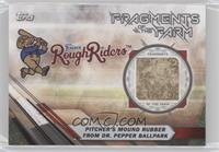 Pitcher's Mound Rubber From Dr. Pepper Ballpark