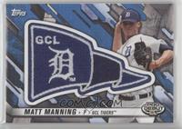 Matt Manning #/99