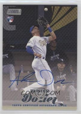 2017 Topps Stadium Club - [Base] - Autograph Variations [Autographed] #SCA-HD - Hunter Dozier
