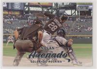 Nolan Arenado (Batting Follow Through)