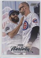 Jake Arrieta, David Ross (Posed with Davd Ross)