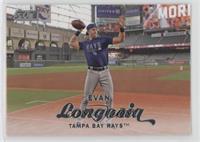 Evan Longoria (Throwing Football)