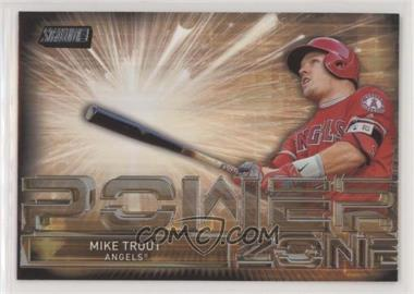 2017 Topps Stadium Club - Power Zone #PZ-MT - Mike Trout