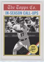 1976 All-Time All-Stars Design - Mike Trout #/1,029