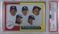 1975 Topps Baseball Design - Los Angeles Dodgers Team [PSA10GEM&nbs…