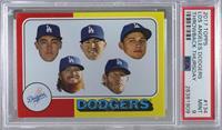 1975 Topps Baseball Design - Los Angeles Dodgers Team [PSA9MINT] #/…