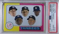 1975 Topps Baseball Design - New York Yankees Team [PSA10GEMM…