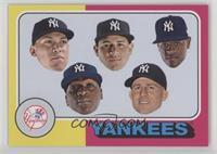 1975 Topps Baseball Design - New York Yankees Team /564