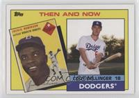 1985 Topps Father and Son Design - Jackie Robinson, Cody Bellinger #/478