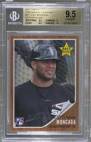 1962 Topps Rookie Star Design - Yoan Moncada /1329 [BGS 9.5]