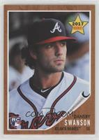 1962 Topps Rookie Star Design - Dansby Swanson /1329