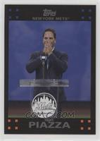 2007 Topps Design - Mike Piazza #/620