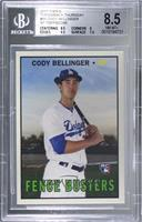 1967 Fence Busters Design - Cody Bellinger [BGS 8.5 NM‑MT+] #/2…