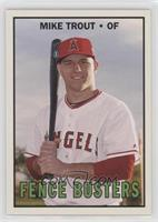 1967 Fence Busters Design - Mike Trout /2245