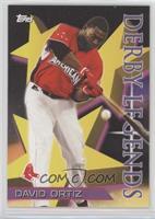HR Derby Legends 1996 Star Power Design - David Ortiz #/1,118