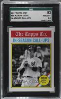 1976 All-Time All-Stars Design - Aaron Judge /1029 [SGC92NM/MT+&nbs…