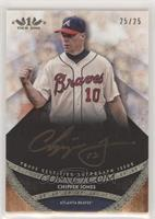 Chipper Jones #/25
