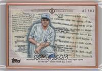 Babe Ruth #/87