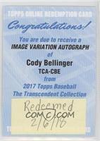 Image Variation - Cody Bellinger /25 [BeingRedeemed]