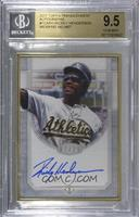 Rickey Henderson [BGS 9.5 GEM MINT] #/25