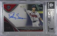 Dansby Swanson [BGS 9 MINT] #6/10