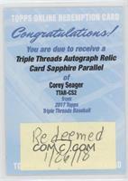 Corey Seager /3 [BeingRedeemed]