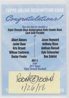 Addison Russell, Dexter Fowler, Javier Baez, Ben Zobrist, Kris Bryant, Albert A…