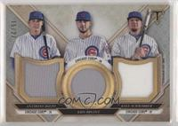 Anthony Rizzo, Kyle Schwarber, Kris Bryant #/27
