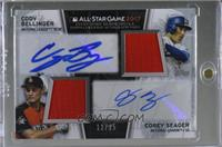 Cody Bellinger, Corey Seager /25
