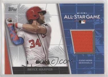 2017 Topps Update Series - All-Star Stitches #ASR-BH - Bryce Harper