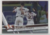 BLAST OFF!, Carlos Correa, Jose Altuve (Astros Stacked at the Center)