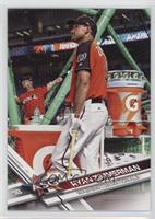 Short Print Variation - Ryan Zimmerman (Posed by Batting Cage)