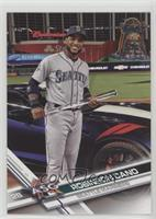 Short Print Variation - Robinson Cano (Standing by Car)