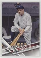 Retired Short Print Variation - Babe Ruth