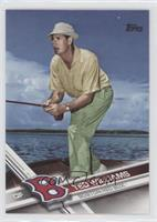 Retired Short Print Variation - Ted Williams