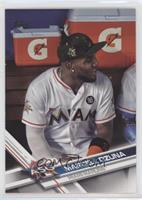 Marcell Ozuna (In Dogout)