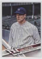 Retired Short Print Variation - Lou Gehrig