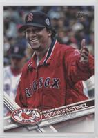 Retired Short Print Variation - Pedro Martinez