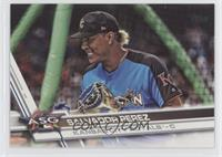 Short Print Variation - Salvador Perez