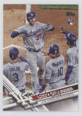 2017 Topps Update Series - [Base] #US50.2 - Short Print Variation - Cody Bellinger (Crossing Home Plate)