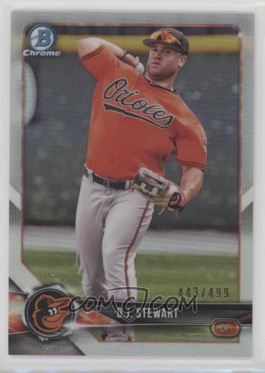 2018 Bowman Chrome Prospects Refractor Bcp106 Dj