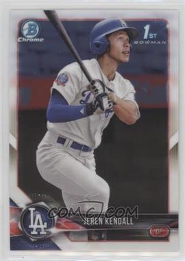 2018 Bowman - Chrome Prospects #BCP23 - Jeren Kendall