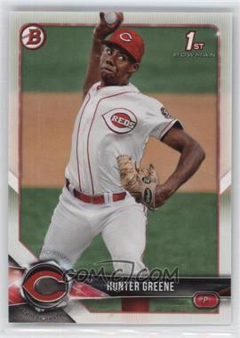 2018 Bowman - Prospects #BP48 - Hunter Greene